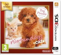 3DS Nintendogs+Cats-Toy Poodle&new Friends Select