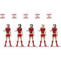 21123 Set of figures - Grid ladies (5pcs)
