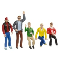 21127 Set of figures - spectators (5 pcs)