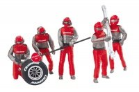21131 Set of figures, mechanics, Carrera Crew